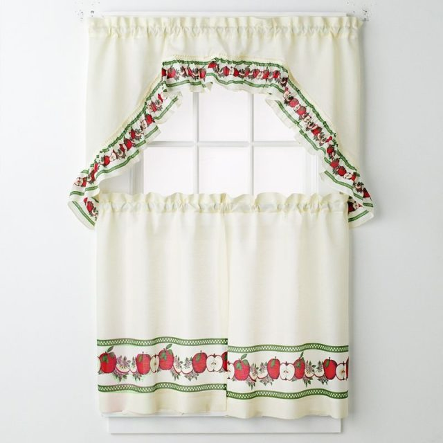 M s de 100 fotos de cortinas de cocina modernas for Cortinas para comedor baratas