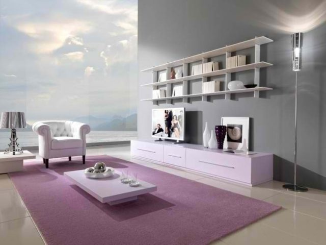m s de 200 fotos de decoraci n de salones modernos 2018. Black Bedroom Furniture Sets. Home Design Ideas