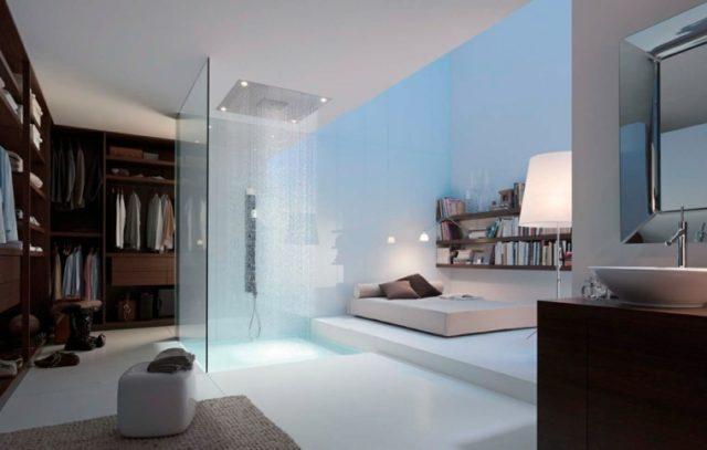 duchas de obra para dormitorios