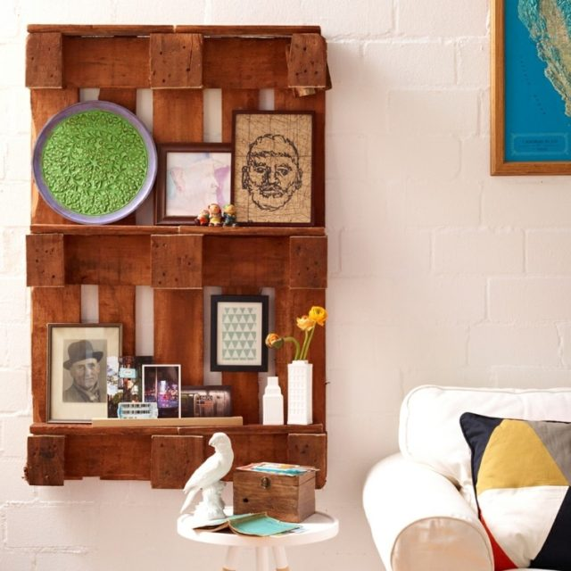 De 100 ideas de c mo hacer muebles hechos con palets - Cuanto vale un palet ...