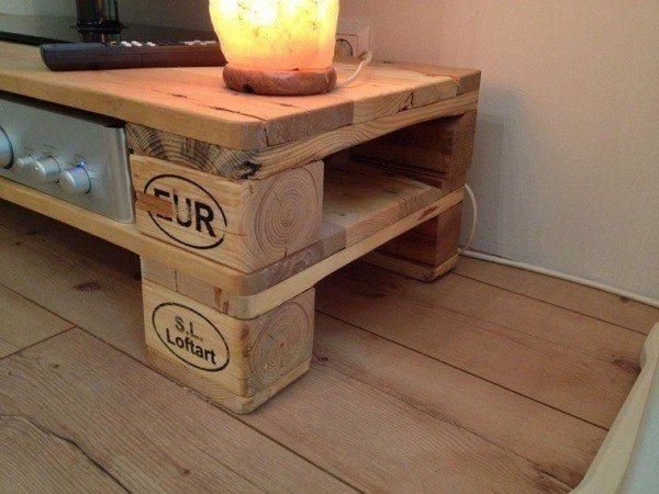 De 100 ideas de c mo hacer muebles hechos con palets - Ideas para reciclar unos palets ...