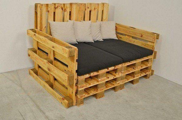 Mas De 100 Ideas De Muebles Hechos Con Palets Reciclados - Muebles-de-palets-paso-a-paso