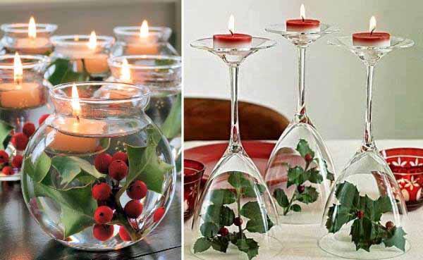 centros-de-mesa-navidenos-acebo-velas
