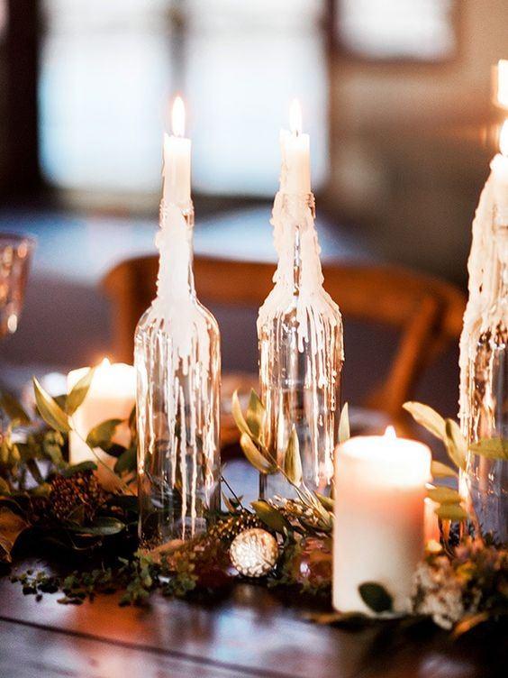 decoracion-mesa-halloween-velas