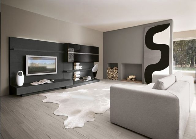 m s de 200 fotos de decoraci n de salones modernos 2018. Black Bedroom Furniture Sets. Home Design Ideas