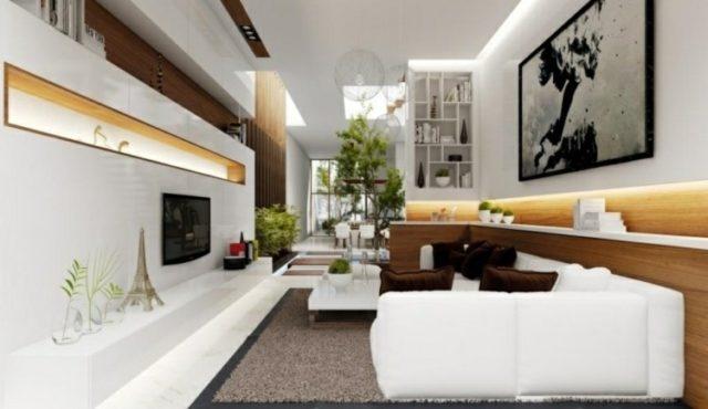 decoracion-salones-modernos-luz-muebles-blancos