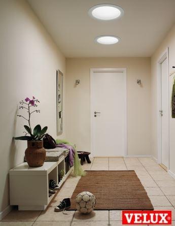 Tubo solar para disfrutar de luz natural en casa - Tubo solar velux ...