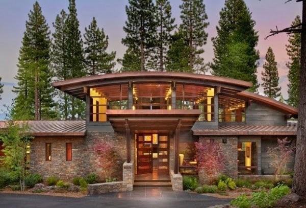 M s de 200 fotos de fachadas de casas modernas y bonitas for Disenos de casas lujosas