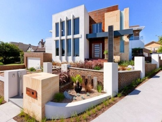 facades-of-houses-most-beautiful-and-modern-house-with-garage