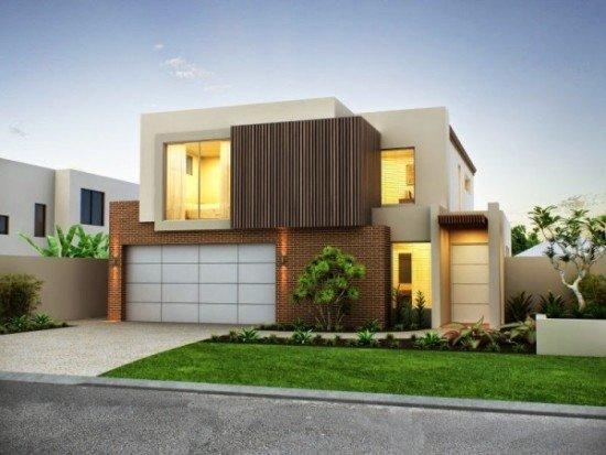 facades-of-houses-most-beautiful-and-modern-house-square-illuminated