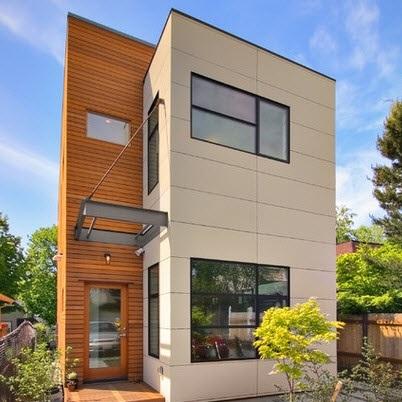 fachadas-de-las-casas-más-bonitas-y-modernas-casa-cuadrada-naranja