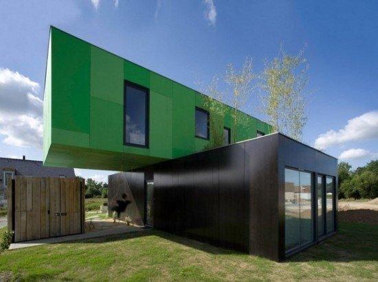 fachadas-de-las-casas-más-bonitas-y-modernas-casa-dos-bloques-colores