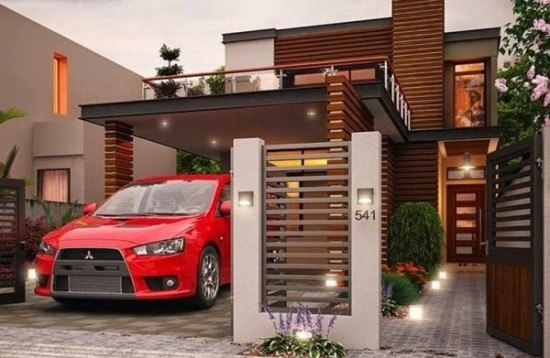 fachadas-de-las-casas-más-bonitas-y-modernas-casa-lineas-horizontales