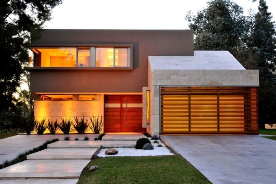 facades-of-houses-more-beautiful-and-modern-house-brown-clear