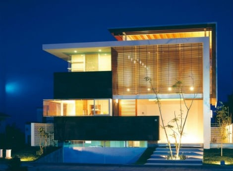 facades-of-houses-most-beautiful-and-modern-house-black-illuminated
