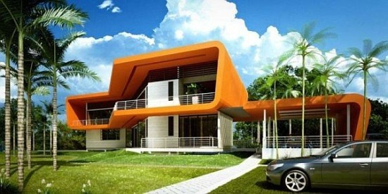 facades-of-houses-most-beautiful-and-modern-house-rectangular-orange
