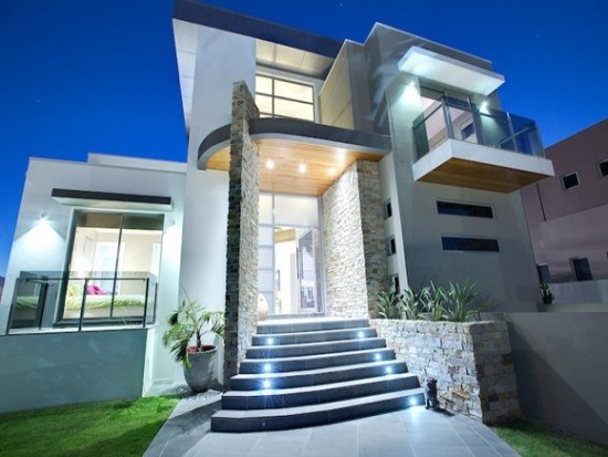 facades-of-houses-most-beautiful-and-modern-stairs-lighted