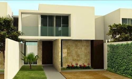 M s de 200 fotos de fachadas de casas modernas y bonitas for Fachadas de casas con azulejo
