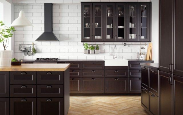 Kitchens In Wooden Shades Being Those Colors Of A Natural Or Chocolate Shade Are One The Most Por And Desired Ones Since They Remind Us Another