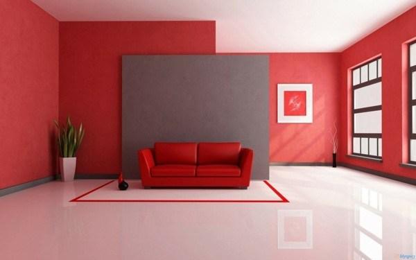 colores-de-salones-modernos-rojo