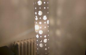 Cómo arreglar la pantalla de lámpara Ikea de pie