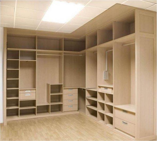 M s de 100 fotos vestidores modernos y peque os for Closet de madera modernos pequenos