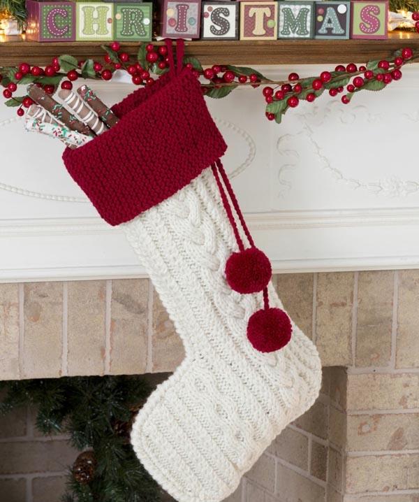 calcetines-de-navidad-ganchillo