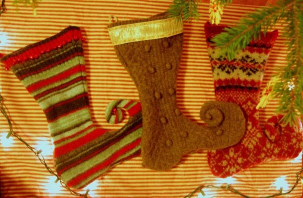 calcetines-de-navidad-medias-pared