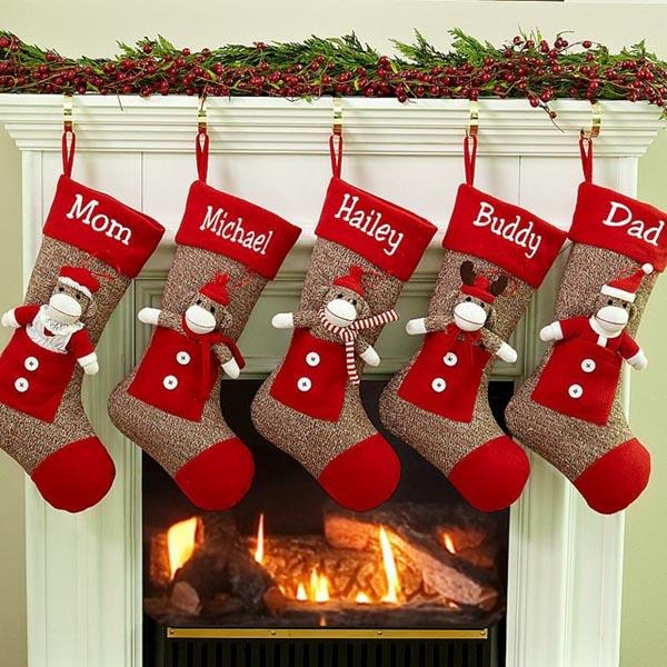 calcetines-de-navidad-monos