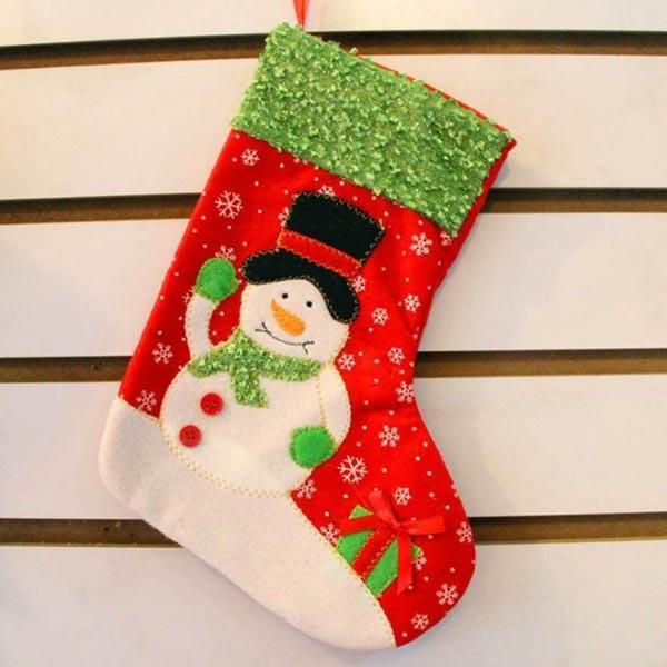 calcetines-de-navidad-muneco-nieve