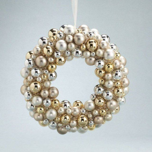 coronas-de-navidad-blancas-doradas