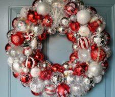 Más de 50 Fotos de Coronas de Navidad 2018 para decorar vuestra casa
