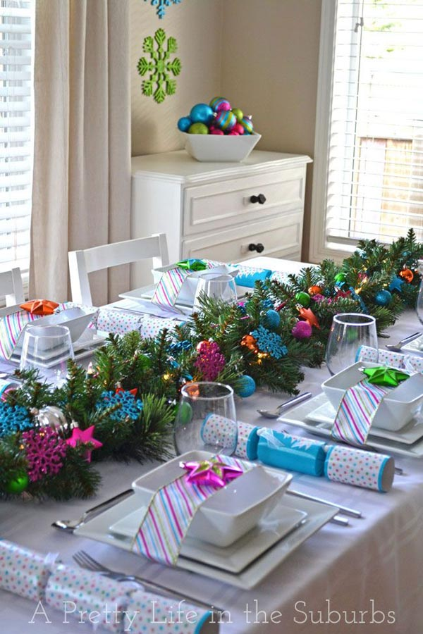 Dining Table Decorations For Winter Month