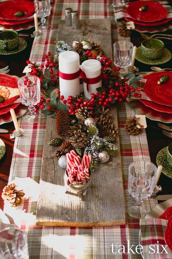 manteles-de-navidad-camino-de-mesa-a-cuadros