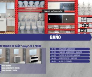 Catálogo de baño Brico Depot 2016