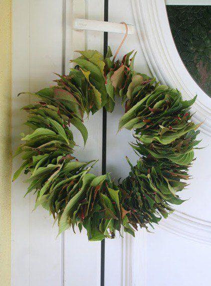 corona-adviento-corona-navidad-video-paso-a-paso-reciclada-con-hojas