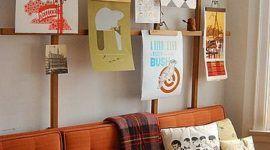 Perchas de pantalones para decorar tus paredes