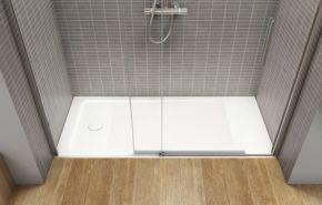 Beneficios de cambiar la bañera por un plato de ducha