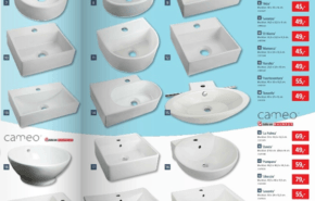 Catálogo de baños Bauhaus