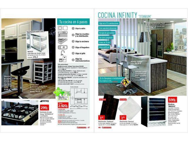 catálogo bauhaus baños y cocinas mayo 2017 - espaciohogar.com - Muebles Bano Bauhaus
