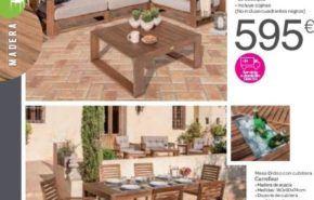Catálogo de muebles de terraza Carrefour