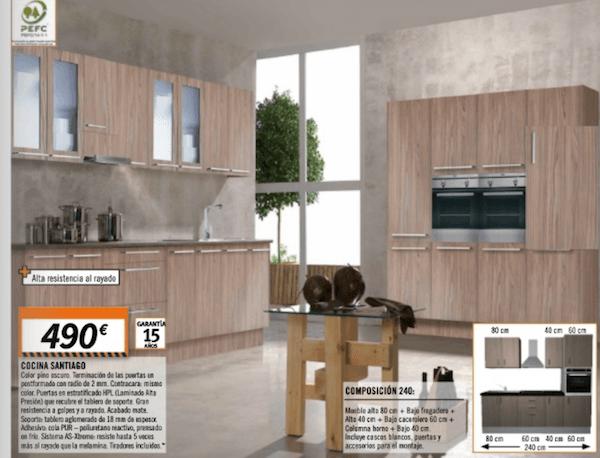 Muebles de cocina kit