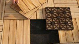 Baldosas de bambú