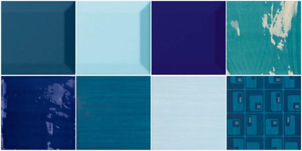 Ba os azules - Azulejos azules para bano ...