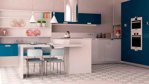 cocina-blanca-y-azul