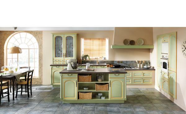 cocina-verde-clasica