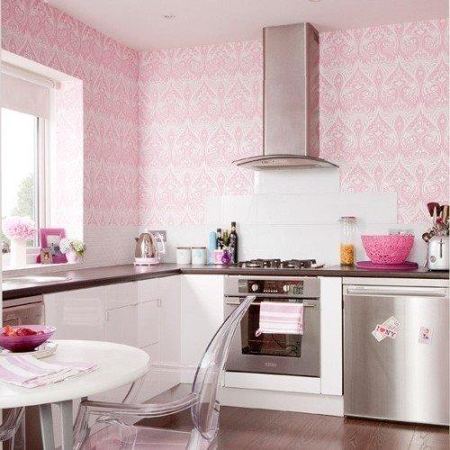 cocinas-rosas-pared