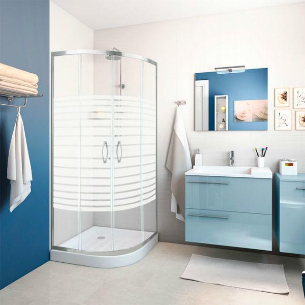 Ba os azules for Muebles sanitarios