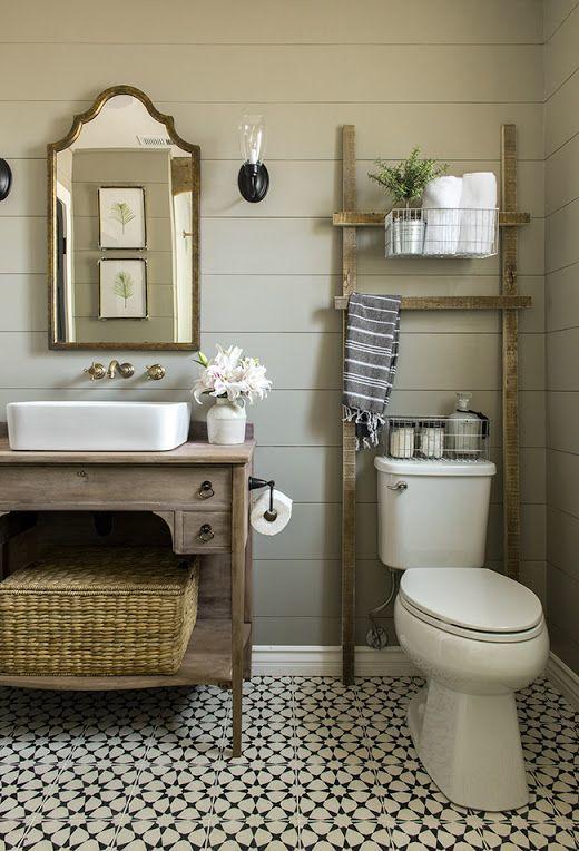 bano,pequeno,decoracion,clasico