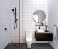 Más de 50 fotos con ideas de baños minimalistas